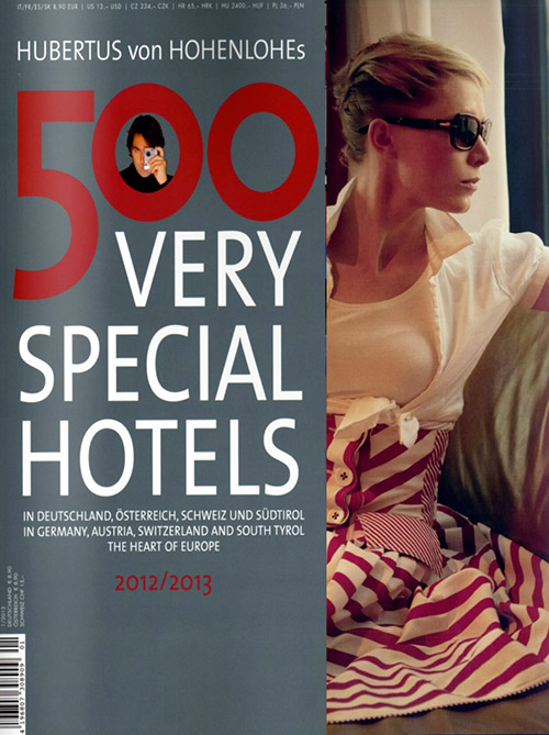 500 Very Special Hotels by Andreas H. Bitesnich